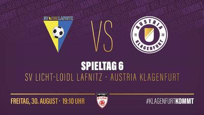 SV Licht-Loidl Lafnitz vs. Austria Klagenfurt