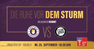 Austria Klagenfurt vs. Sturm Graz