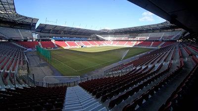 Das Wörthersee-Stadion der Austria Klagenfurt