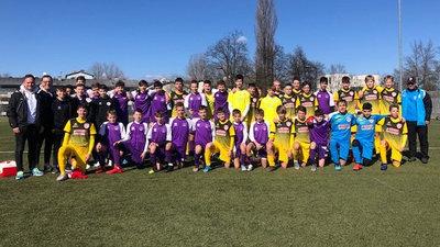 Die U15-Teams von Austria Klagenfurt und Kapfenberger SV
