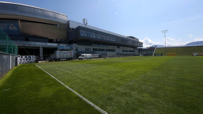 Der Trainingsbetrieb im Sportpark wird vorerst ausgesetzt