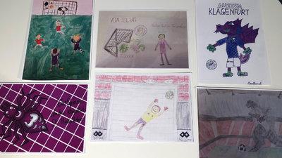 Die Austria verlängert den Malwettbewerb für Kinder