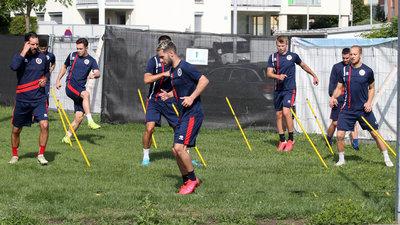 Die Profis der Austria Klagenfurt sind zurück im Training
