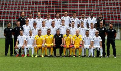 Die aktuelle Mannschaft