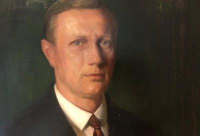 Der erste Austria-Obmann Otto Umlauft