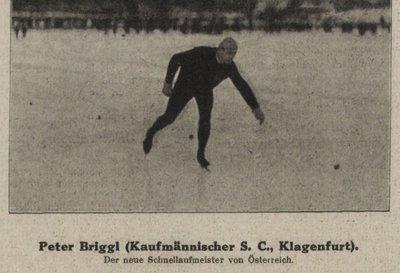 Eisschnellauf Peter Briggl