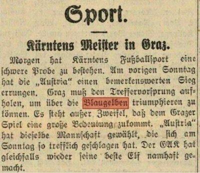 Zeitungsartikel Die Freien Stimmen 6 September 1933