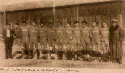 Pokalsieger 1935 100 Jahre
