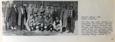 Meister 1934 Geschichte