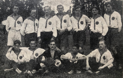 Die erste Mannschaft im Jahre 1920
