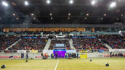1250 Fans dürfen beim Cup-Spiel dabei sein