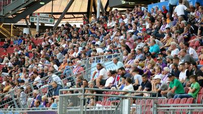 Gegen Linz waren 1280 Zuschauer im Wörthersee-Stadion.
