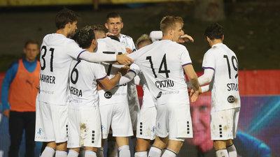 Die Austria feiert den Viertelfinal-Einzug