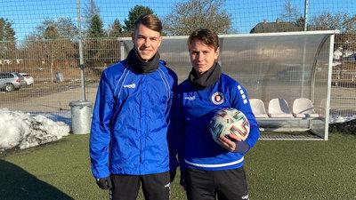 Tim Maciejewski und Alex Timossi Andersson hoffen auf ihr Debüt