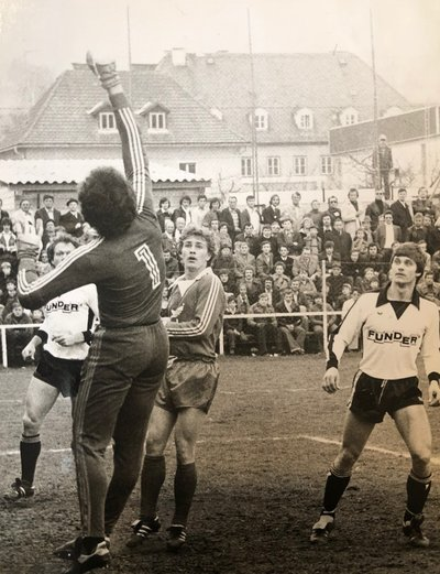Hannes Haubitz beim Derby in St. Veit