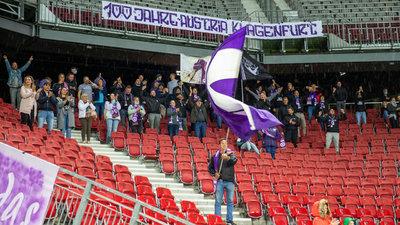 Die Fans der AustriaKlagenfurt kehren bald zurück ins Stadion