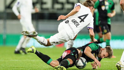 Patrick Greil gegen Wackers Clemens Hubmann