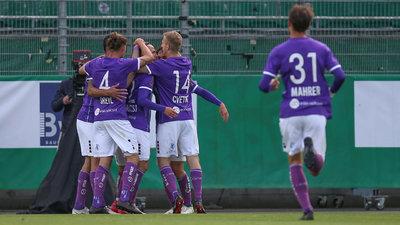 Die Austria steht in der Relegation