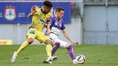 Fabian Miesenböck gegen St. Pöltens Blauensteiner