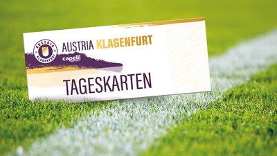 Austria Klagenfurt Tageskarten