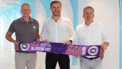 Gesellschafter Zeljko Karajica mit den Geschäftsführern Harald Gärtner (l.) und Matthias Imhof (r.).