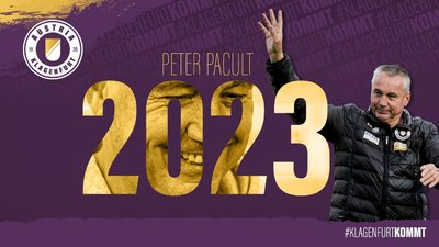 Peter Pacult hat seinen Vertrag bei der Austria verlängert