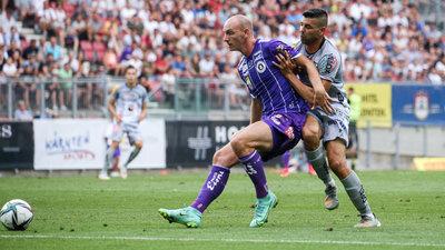 Nicolas Wimmer feierte sein Debüt für die Austria