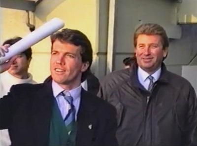 Lothar Matthäus mit Präsident Stefan Wetzl