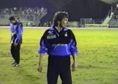 Lothar Matthäus im Stadion