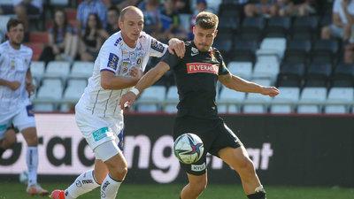 Nicolas Wimmer im Spiel gegen den FC Admira Wacker
