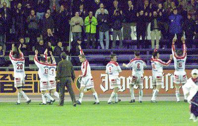 Jubelszenen gab es beim FC Kärnten jede Menge.