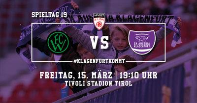 Wacker Innsbruck II vs. SK Austria Klagenfurt