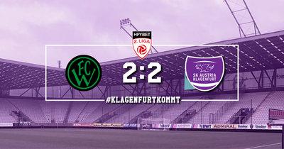 Wacker II vs. Austria Klagenfurt