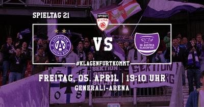 Young Violets Austria Wien vs SK Austria Klagenfurt