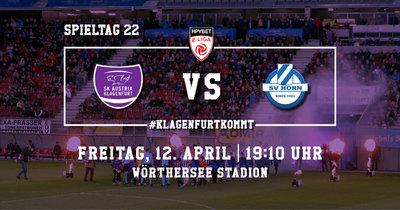 SK Austria Klagenfurt vs SV Horn