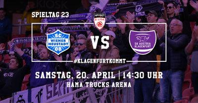 SC Wiener Neustadt vs. SK Austria Klagenfurt