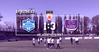 SC Wiener Neustadt vs SK Austria Klagenfurt