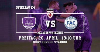 SK Austria Klagenfurt vs FAC Wien