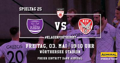 SK Austria Klagenfurt vs KSV 1919