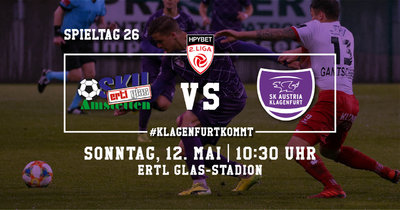 SKU Ertl Glas Amstetten vs. SK Austria Klagenfurt