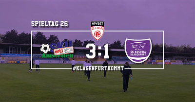 SKU Ertl Glas Amstetten vs SK Austria Klagenfurt