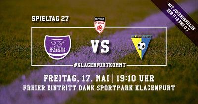 SK Austria Klagenfurt vs Licht-Loidl Lafnitz