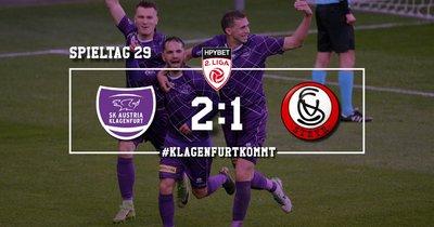 SK Austria Klagenfurt vs SK Vorwärts Steyr
