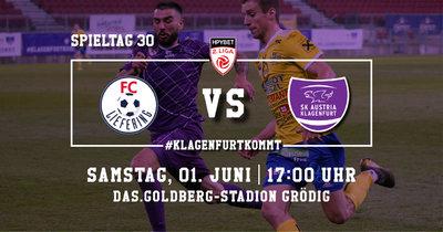 FC Liefering vs SK Austria Klagenfurt