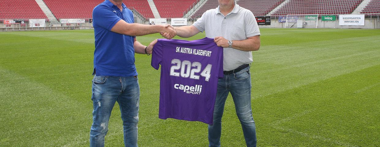 Capelli Sport neuer Austria-Ausrüster