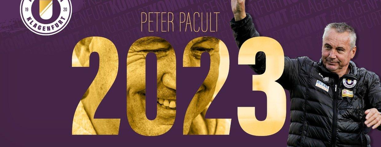 Pacult bleibt Chefcoach der Violetten