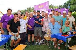 Das violette Familientreffen